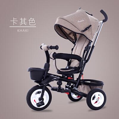 婴儿三轮车脚踏车可折叠儿童手推车0至6岁大号男女宝宝玩具车YW146 萌宝出游季4.25-5.5跨店铺每满99减10,更多好物欢迎进店选购>&g
