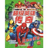 超级英雄传奇:英雄的使命,美国漫威公司,海豚传媒,湖北少儿出版社【正版书 放心购】