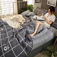 床上用品学生被子四件套被单1.8m床单被套1.5单人宿舍三件套1.2米V定制