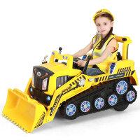 儿童挖掘机可坐大号电动挖土机男孩玩具工程童车推土机2-6岁 2810 官方标配