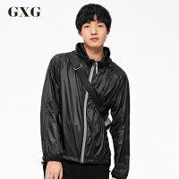 GXG男装 秋季男士时尚休闲流行青年运动夹克外套#174821912