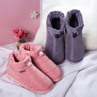 泰蜜熊新款冬季雪地靴男厚底防滑保暖加绒短筒学生棉鞋女短靴冬天