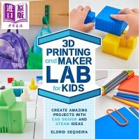 【中商原版】3D Printing