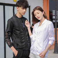 情侣款防晒衣服韩版运动休闲皮肤衣夏季外套潮流薄款夏超薄夹克P666