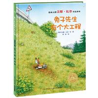 海豚绘本花园:兔子先生有个大工程(精装) 汉斯比尔,假如 长江少年儿童出版社