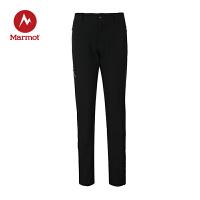 Marmot/土拨鼠秋冬户外运动防泼水防风透气女式M3软壳裤