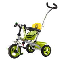 儿童三轮车脚踏车儿童三轮车手推车宝宝脚踏车幼儿自行车1-3-6岁免充气童车LYZT50
