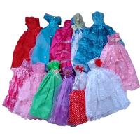 中国莉莲芭比娃娃衣服裙子短裙公主裙连衣裙长裙婚纱礼服女孩玩具