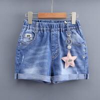 女童牛仔短裤10女大童13女孩12夏装15岁11热裤学生儿童裤子
