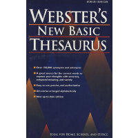 韦氏同义辞典Webster's New Basic Thesaurus