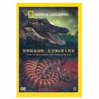 原装正版  纪录片 世界致命动物:北美洲 澳大利亚(DVD) 系列光盘