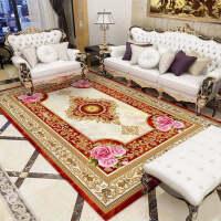 欧式客厅茶几地毯简约卧室满铺房间沙发大地毯床边毯垫美式可机洗k