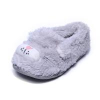 出口英男儿童棉拖鞋包跟防滑保暖软底宝宝学步鞋卧室内居家地板鞋