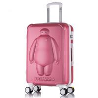 儿童拉杆箱女行李箱子男 旅行箱20/大白密码箱包学生可爱登机皮箱包
