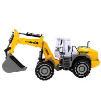 铲车玩具 男孩大号惯性工程车铲车推土机挖土车挖掘机沙滩儿童玩具汽车模型