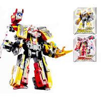 巨神战击队玩具男孩变形机器人超救分队爆裂旋天豪华冲锋战机王 高约33cm