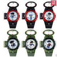新款时尚柯南表儿童手表卡通石英夜光小学生表