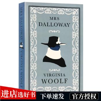 达洛维夫人 英文原版小说 Mrs Dalloway 弗吉尼亚伍尔芙 女性主义文学经典 英国现代主义文学 英文版进口英语书籍 意识流小说奠基之作 经典文学小说代表
