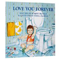 【现货】英文原版 Love You Forever 永远爱你 3-6岁 亲子教育系列  名家Robert Munsch 吴敏兰书单 平装版