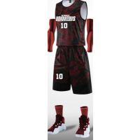 套装男学生篮球衣比赛训练运动服印字潮流背心宽松队服篮球服