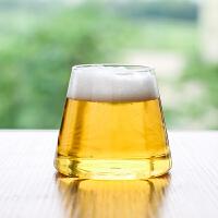 ins创意富士山玻璃杯水杯喝茶杯酒杯果汁杯饮料杯子B-121