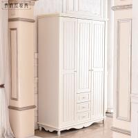 法式整体大衣柜卧室韩式家具 衣柜 3门