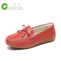 红蜻蜓旗下品牌 COOLALA 女鞋秋冬皮鞋鞋子女女棉鞋HTB6719