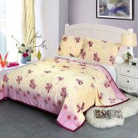 a冬季法兰绒加厚保暖床单珊瑚绒单面加绒毛毯1.5/1.8/米床纯色