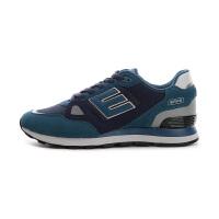 鸿星尔克新款男鞋休闲运动鞋反绒皮透气防滑跑步鞋网鞋