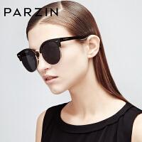 帕森 新款TR90时尚偏光太阳镜 女士复古大框潮墨镜 司机驾驶镜