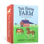 顺丰发货 英文原版图书 Ten Horse Farm: A Pop-up Spectacular 十大马场:壮观的场面