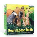 顺丰发货 进口英文原版绘本Days with Bear: Bear's Loose Tooth牙仙子 吴敏兰推荐纸板书