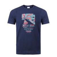 【现货】2019春夏新品哥伦比亚户外男装速干衣排汗透气圆领短袖T恤PM3445
