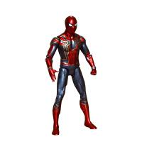漫威钢铁侠 漫威复仇者联盟3无限战争钢铁蜘蛛侠模型玩具公仔关节可动