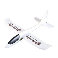 360度魔术手抛飞机 泡沫纸飞机模型拼装创意玩具