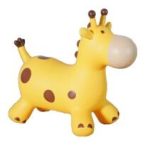 儿童蹦蹦马 儿童骑马充气玩具跳跳马宝宝可坐橡胶蹦蹦皮鹿加大加厚小女孩