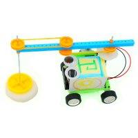 小制作 扫地机器人模型 小学生自制科学实验培训材料