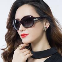 偏光防紫外线太阳镜女潮墨镜女圆脸近视眼镜
