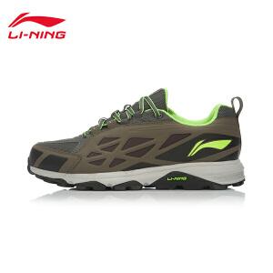 李宁跑步鞋男鞋耐磨防滑越野男士运动鞋ARDK027.
