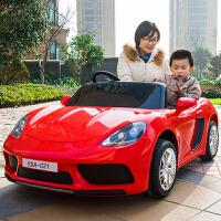 儿童电动汽车四轮可坐双人跑车双人座带遥控宝宝小孩玩具车超大号可坐大人