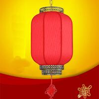 过年春节新年结婚用大红喜庆灯笼 防水现代中式吊灯/户外餐厅酒店门外挂冬瓜灯笼