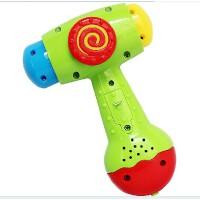 美贝乐趣味小锤子 益智敲打玩具宝宝敲打锻练小手婴幼儿0-1岁