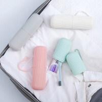 便携式旅行牙刷牙具收纳盒套装情侣洗漱口杯牙缸刷牙杯子旅游家用