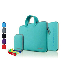 Liweek 苹果电脑包 macbook pro air 11寸 12寸 13.3寸 15寸 retina 笔记本内胆包 防摔 防水 防震 手提包