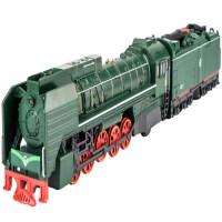 东风合金仿真火车头 内燃机车带声光合金火车模型 童年回忆绿皮火车