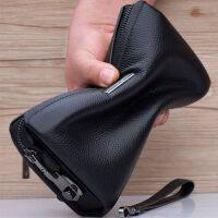 手拿包男包手包男士手抓包大容量夹包商务头层牛皮软皮包包潮