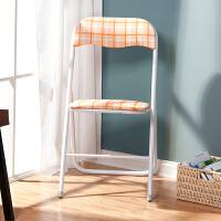 好事达 布面扇形折椅红色条纹7255-1 椅子 折叠餐椅
