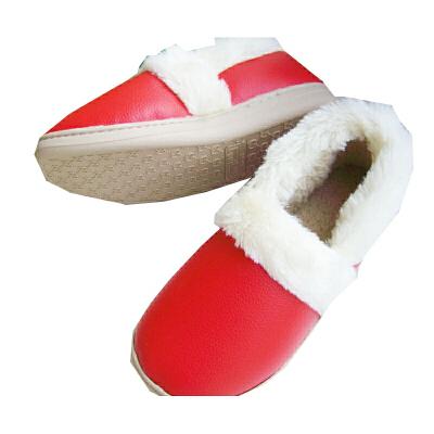 慈颜秋冬PU软底包跟棉拖鞋 月子鞋 孕妇鞋 家居鞋CYQ01