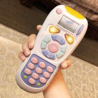 玩具手机儿童0-1-3岁可咬音乐婴儿遥控器益智男女孩宝宝仿真电话