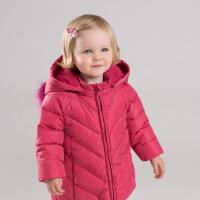 [2件3折价:228.9]davebella戴维贝拉童装冬季新款女童宝宝90绒保暖羽绒服DB12002